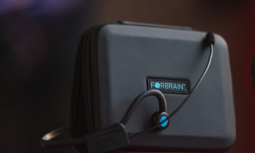 """FORBRAIN"" Bone Conduction Audio Feedback Headset – Promo Video"