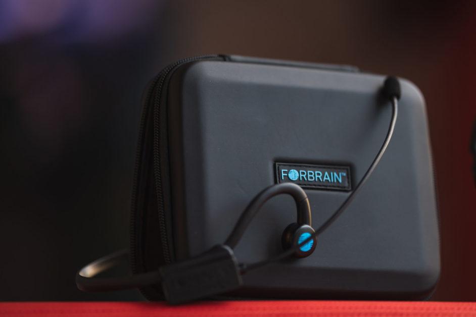"""FORBRAIN"" Bone Conduction Audio Feedback Headset – Promo Video"