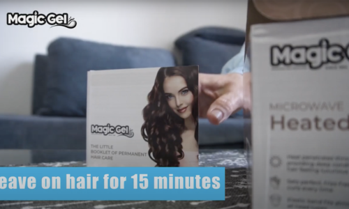 Luxury Hair Cap for Deep Conditioning by MagicGel-VideoCommercial